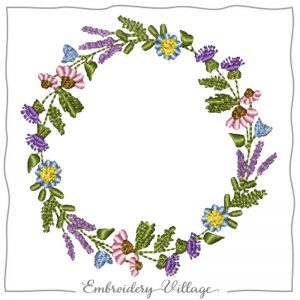 1031-wildflower-wreath-embroidery-village