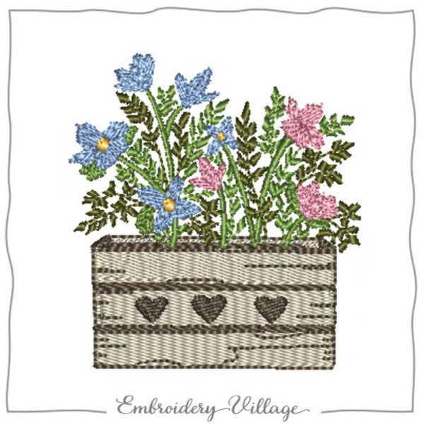 1032-flower-bouquet-box-embroidery-village
