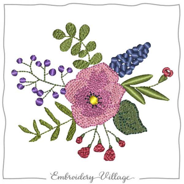 1027-wildflower-bunch-embroidery-village