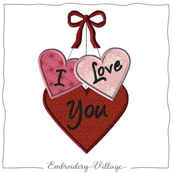 1106-i-love-you-hearts-embroidery-village