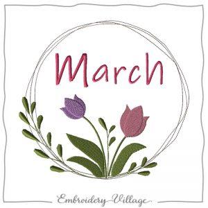 EV1130-march-wreath-embroidery-village