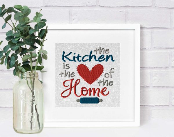 EV1046-kitchen-is-heart-of-home-embroidery-village-frame