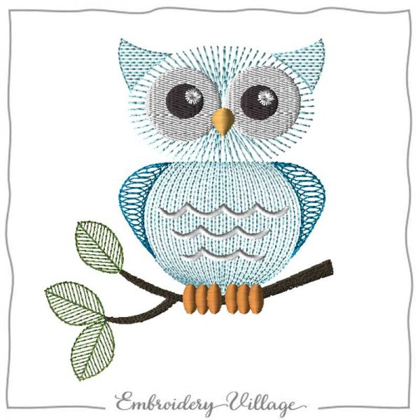 EV1180-sketch-owl-embroidery-village